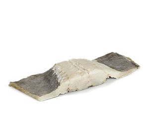 long black wing portion deep-frozen codfish