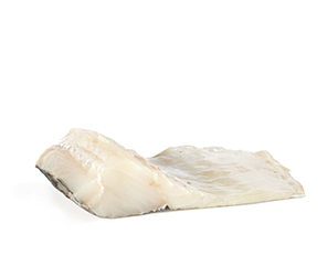traditional cut portion deep-frozen codfish