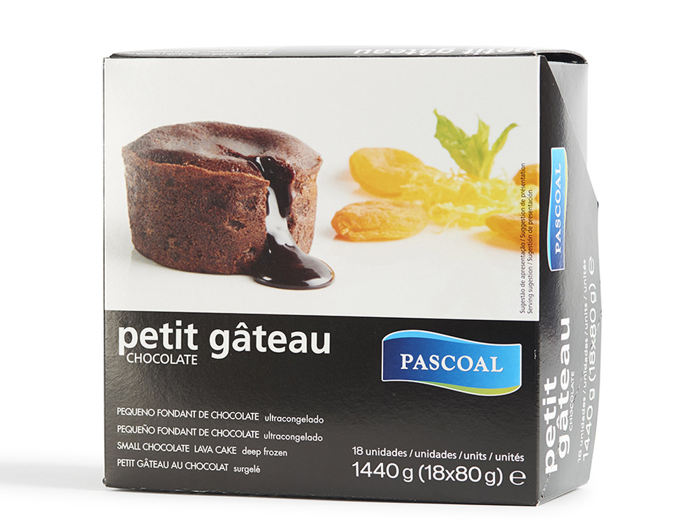 Petit Gateau Chocolate Pascoal