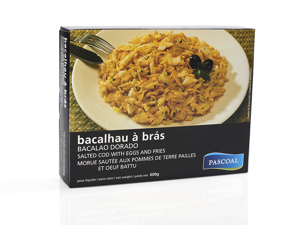 Pascoal | Bacalhau Bras 600g
