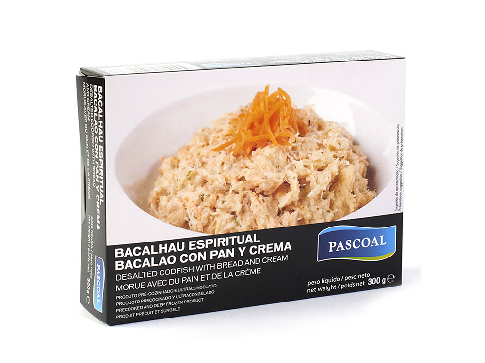 Pascoal | Codfish with bread and cream 300g