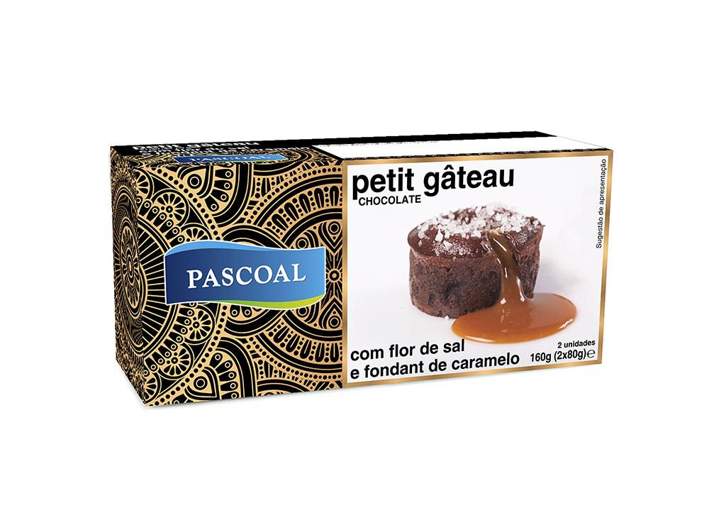 Petit Gâteau Chocolate with Salt Flower and Caramel Fondant